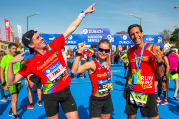 city sightseeing marathon challenge seville finish line