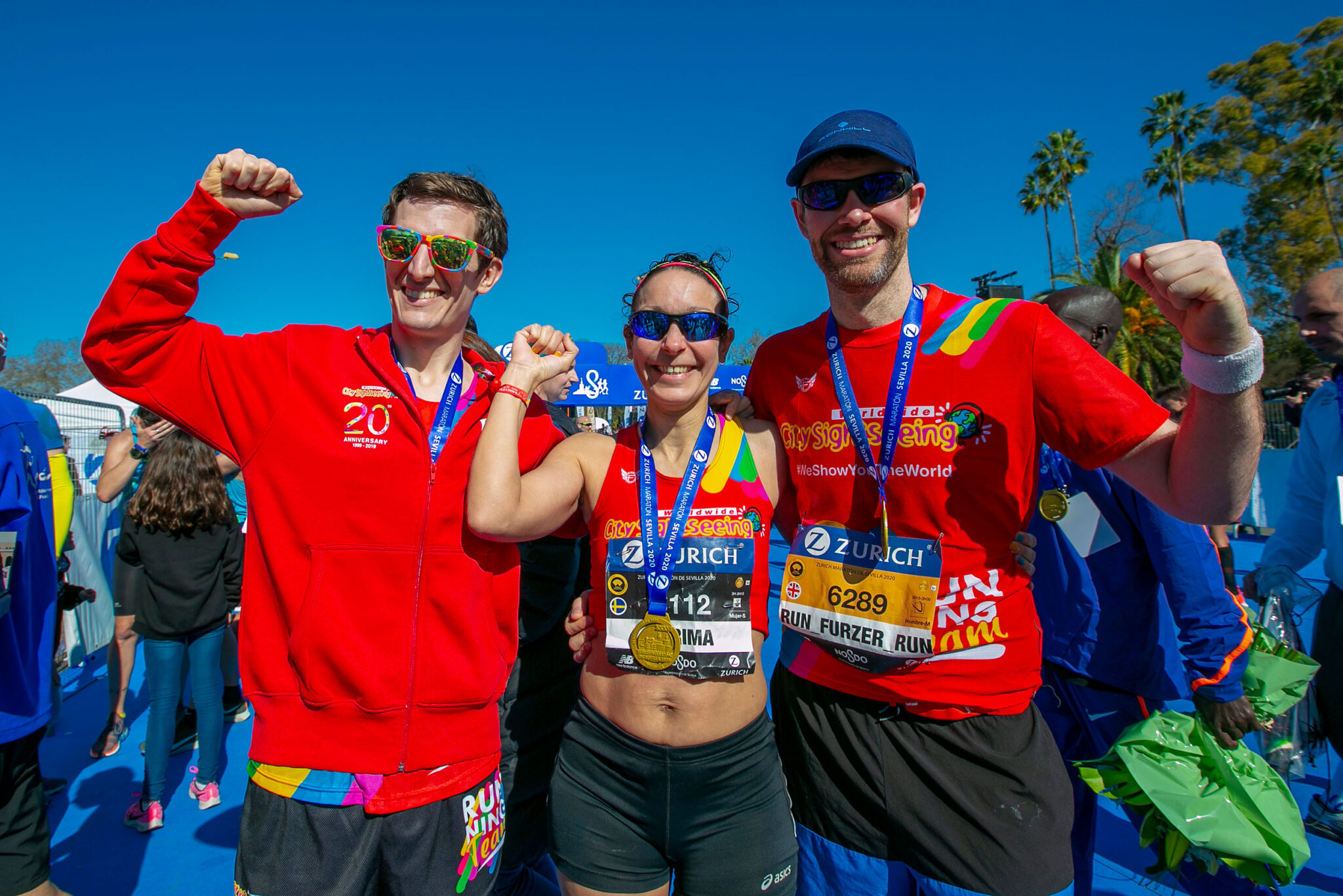 city sightseeing marathon challenge winners 5th edition